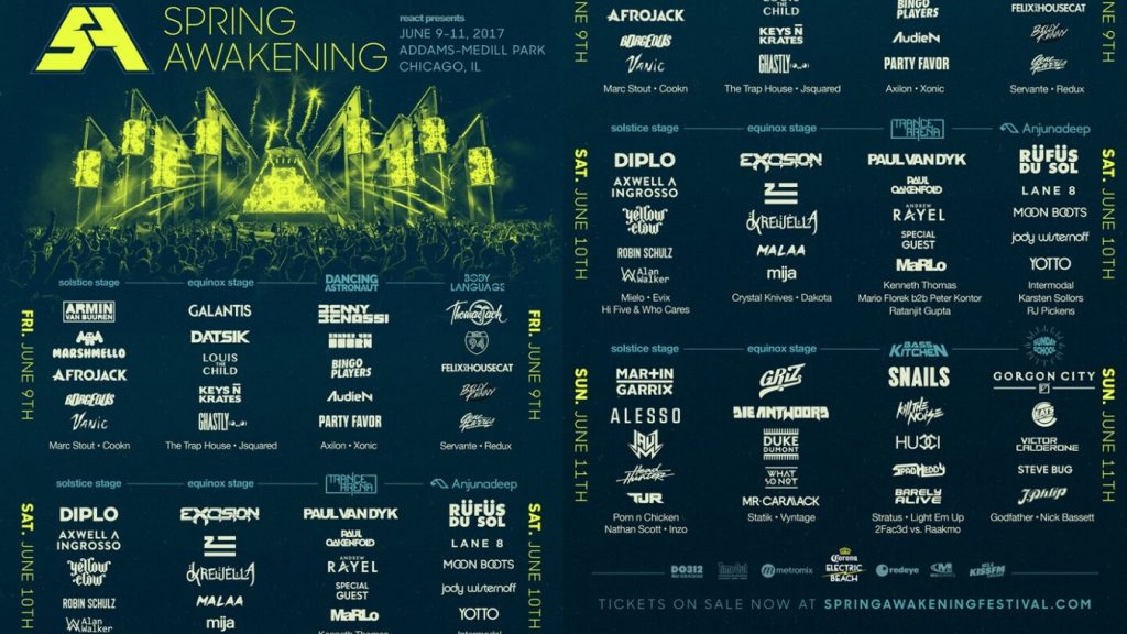 Ticket Giveaway Spring Awakening Music Festival 2017