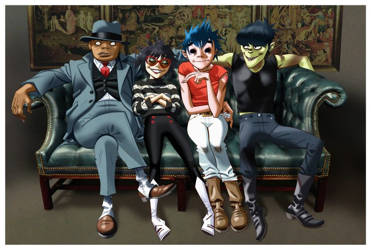 Gorillaz 762x513 July 2017 Concerts to See in Chicago, Stay in the Loop