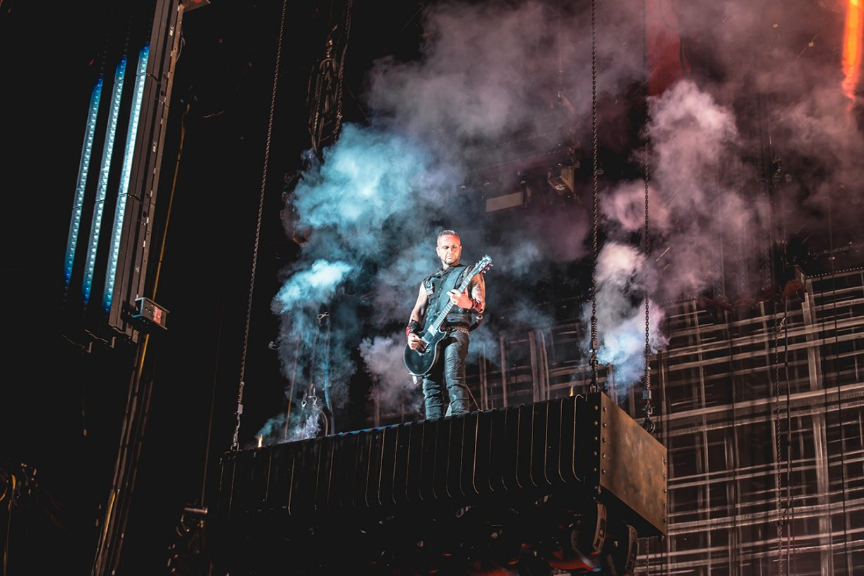 4I0A0019 1230x820 Rammstein breaths fire into the crowd at Hollywood Casino Amphitheater
