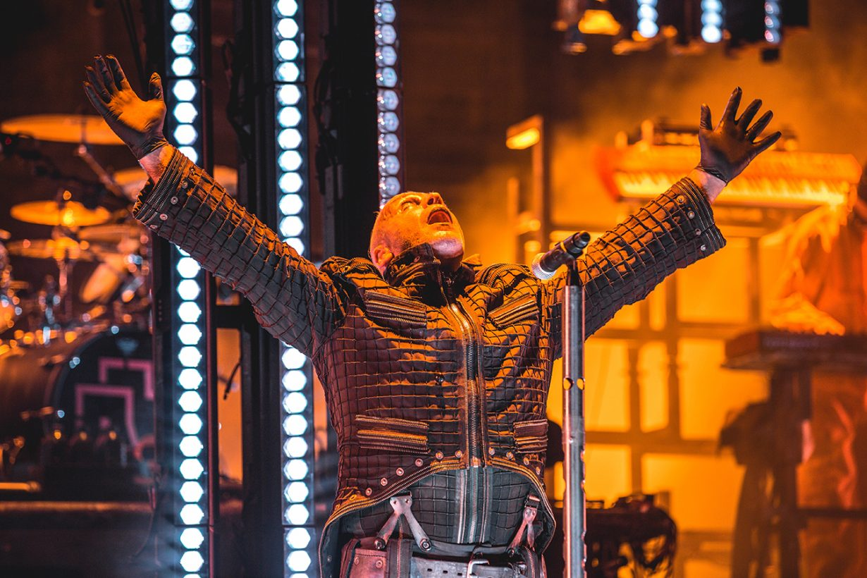 4I0A0397 1230x820 Rammstein breaths fire into the crowd at Hollywood Casino Amphitheater