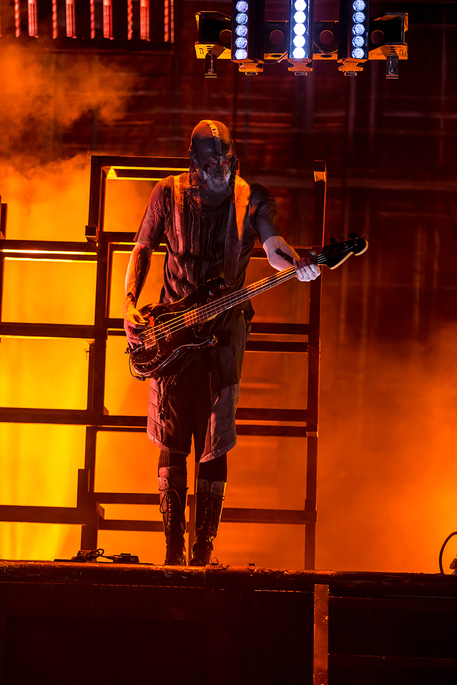 4I0A0407 Rammstein breaths fire into the crowd at Hollywood Casino Amphitheater