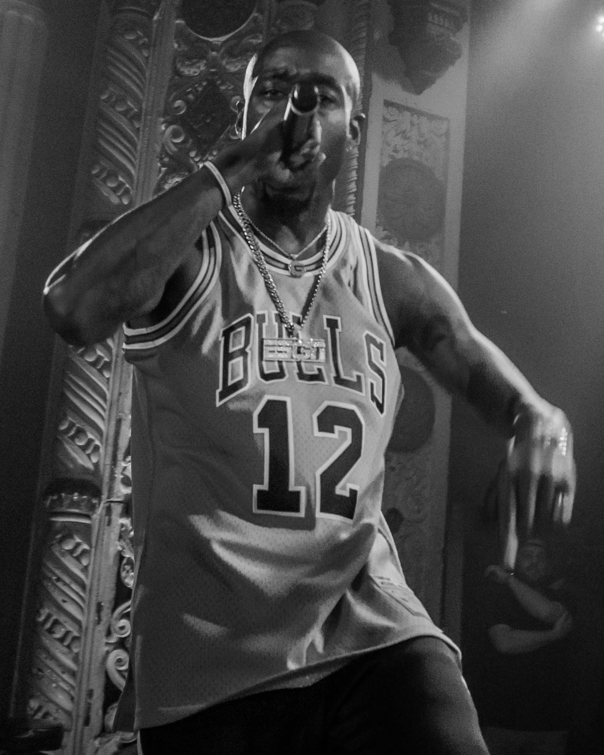 Freddie Gibbs. Metro Chicago. Photo Kevin Baker 13 1230x1538 Freddie Gibbs music spoke volumes over the packed crowd at the Metro