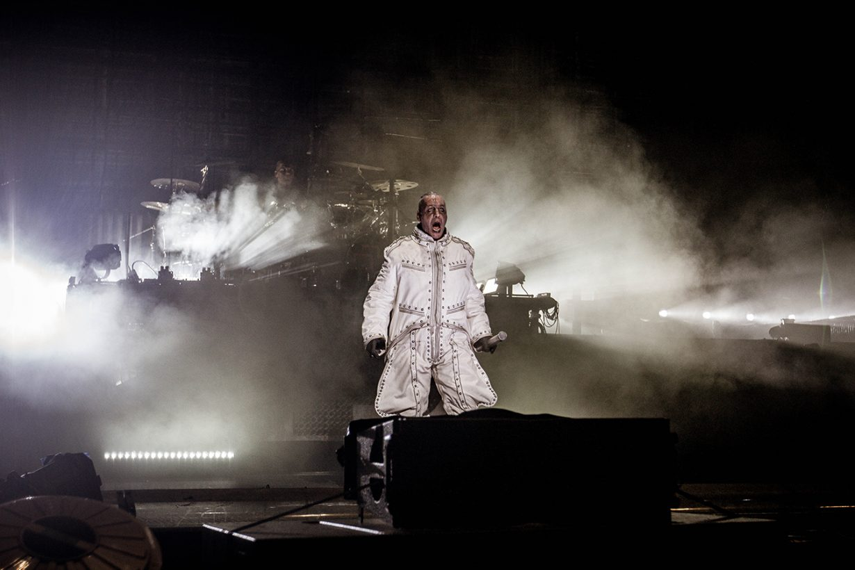 IMG 4532 1230x820 Rammstein breaths fire into the crowd at Hollywood Casino Amphitheater