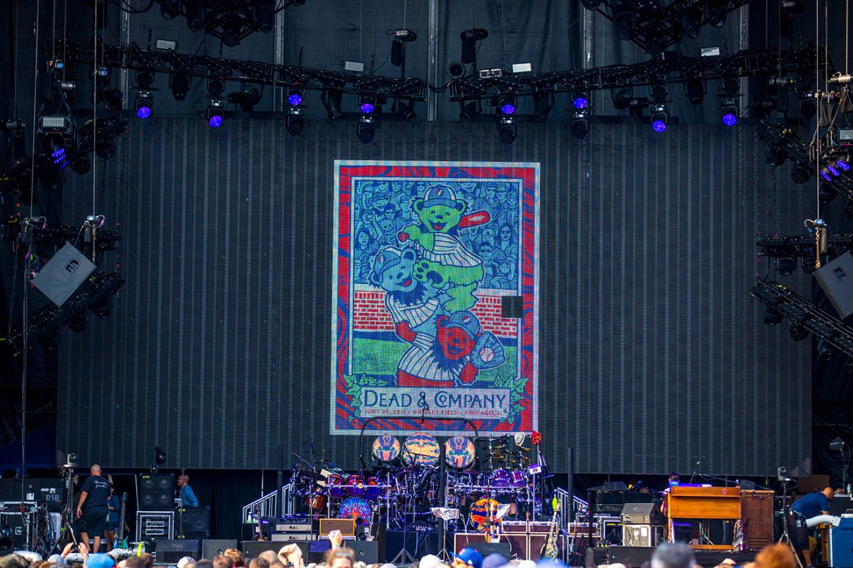4I0A0595 1230x820 Dead and Company close out their Summer tour at Wrigley Field