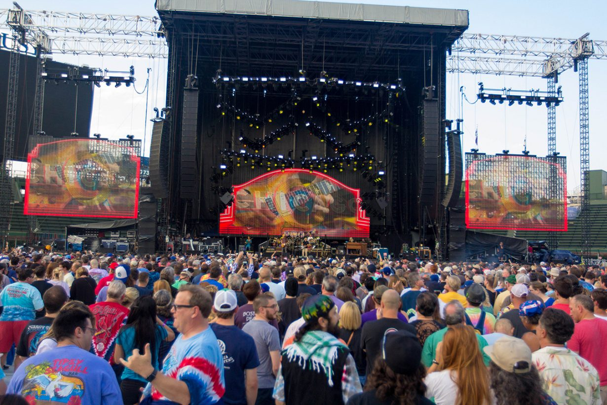 IMG 4757 1230x820 Dead and Company close out their Summer tour at Wrigley Field