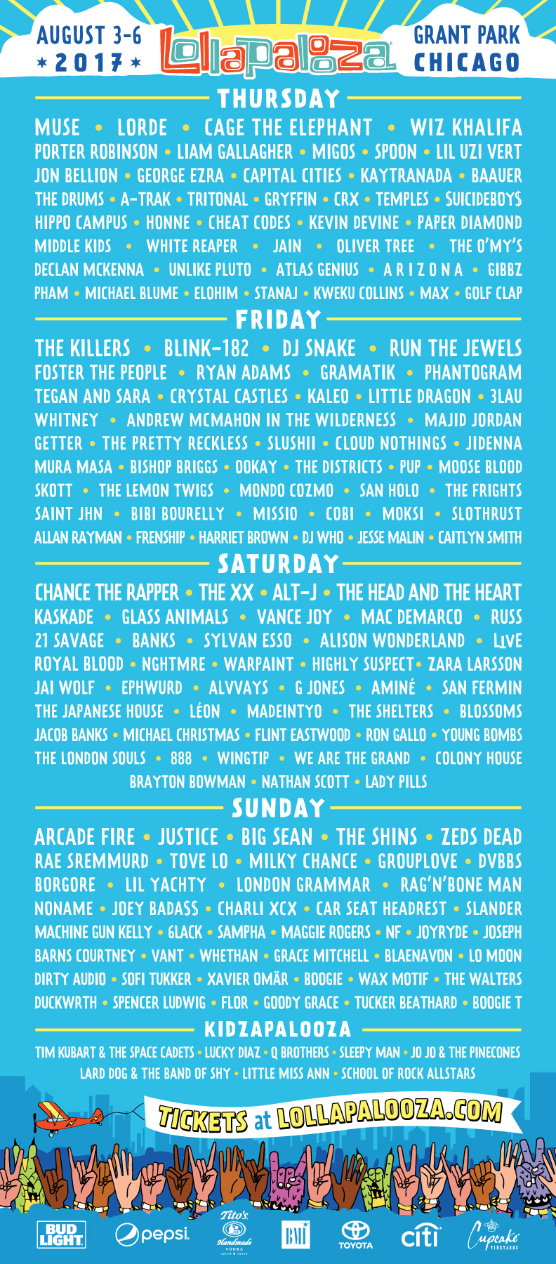 lol17 admat by day r10 05082017 5 Chicago local artists to check out at Lollapalooza