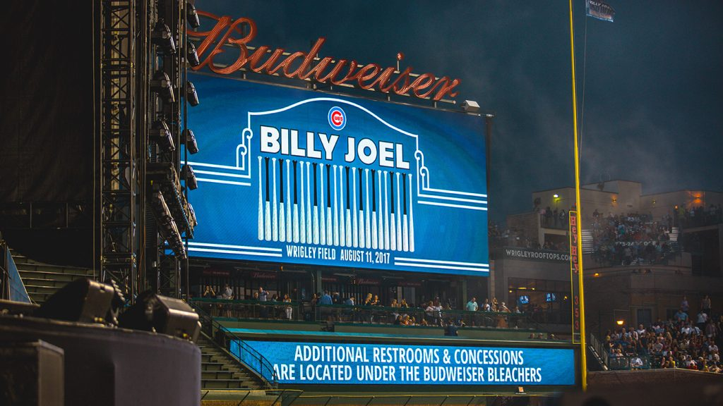 4I0A4628 1024x576 Billy Joel Returns to Wrigley With a Night Packed Full of Hits