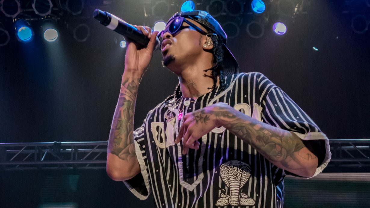 August Alsina. House of Blues 2017. Chicago Il. Photo by Kevin Baker 22 1230x692 Photos: August Alsina Dont Matter Tour with Rotimi and Tone Stith at the House of Blues