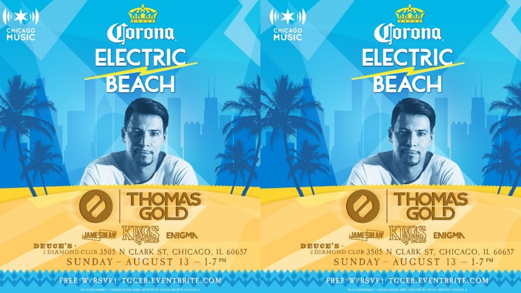 Corona Electric Beach Chicago Music