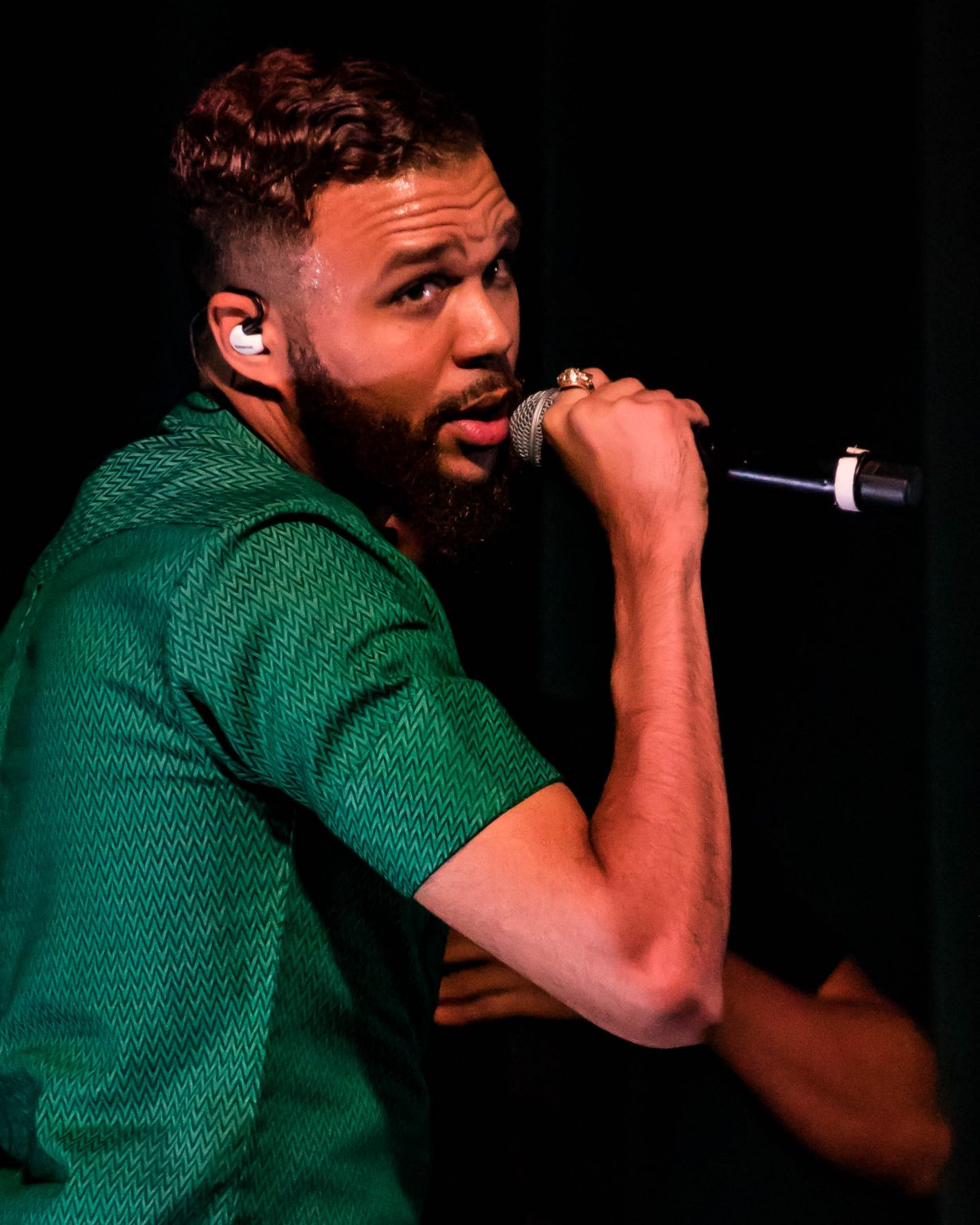 Jidenna. Lollapalooza 2017. Chicago IL. Photo Kevin Baker 21 1230x1537 Photos: Zane Lowes After Show was Epic ft Aminé, Jidenna, Towkio + More