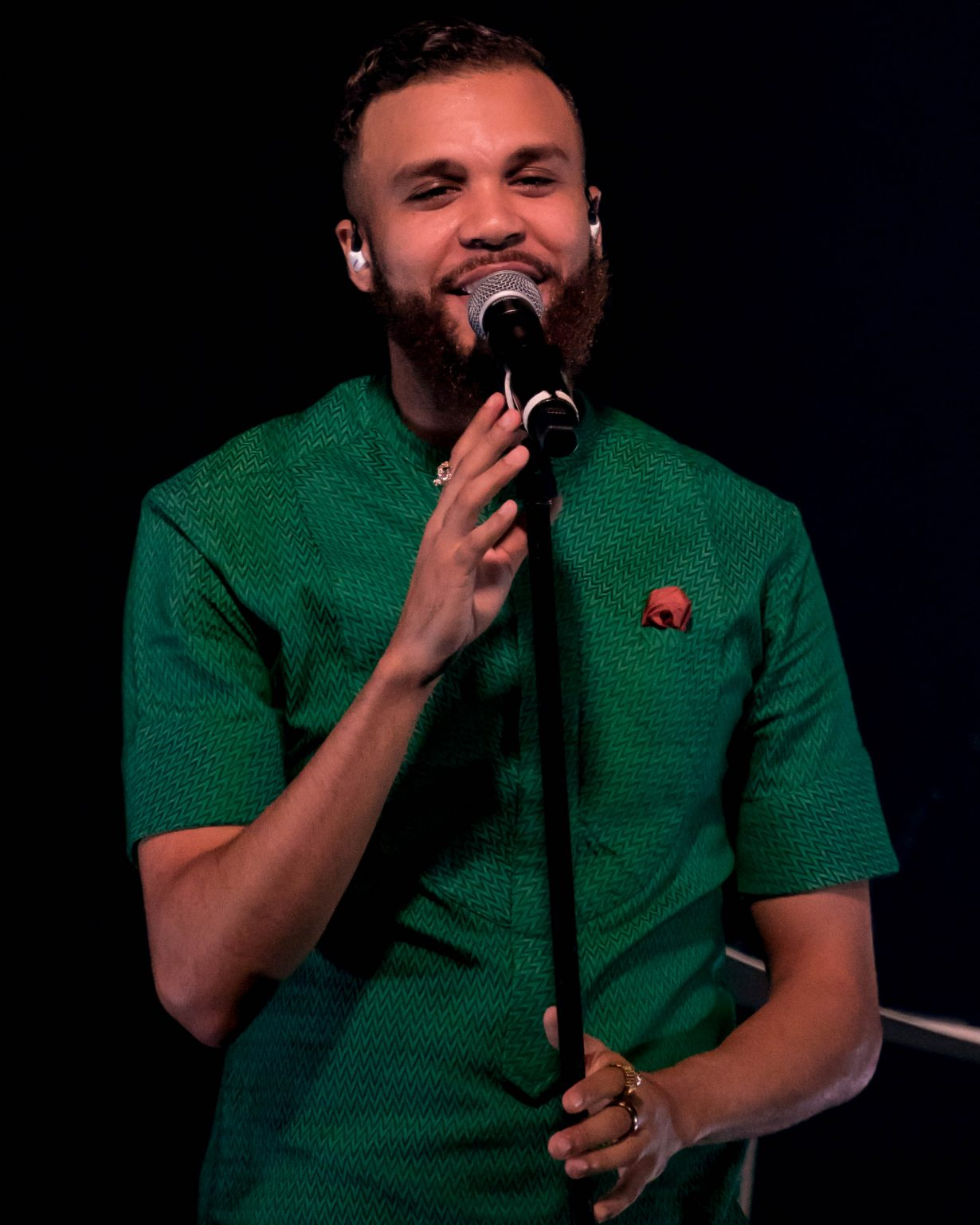 Jidenna. Lollapalooza 2017. Chicago IL. Photo Kevin Baker 36 1230x1537 Photos: Zane Lowes After Show was Epic ft Aminé, Jidenna, Towkio + More