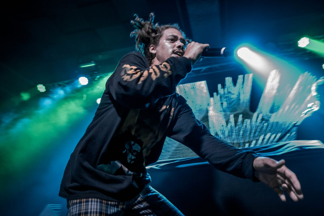 Kweku Collins. Concord Music Hall 2017. Chicago IL. Photo Kevin Baker 21 1230x820 Photos: Kaytranada, Kweku Collins and Lou Phelps at Concord Music Hall
