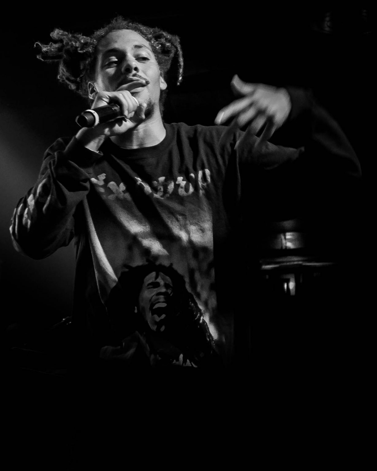 Kweku Collins. Concord Music Hall 2017. Chicago IL. Photo Kevin Baker 3 1230x1537 Photos: Kaytranada, Kweku Collins and Lou Phelps at Concord Music Hall