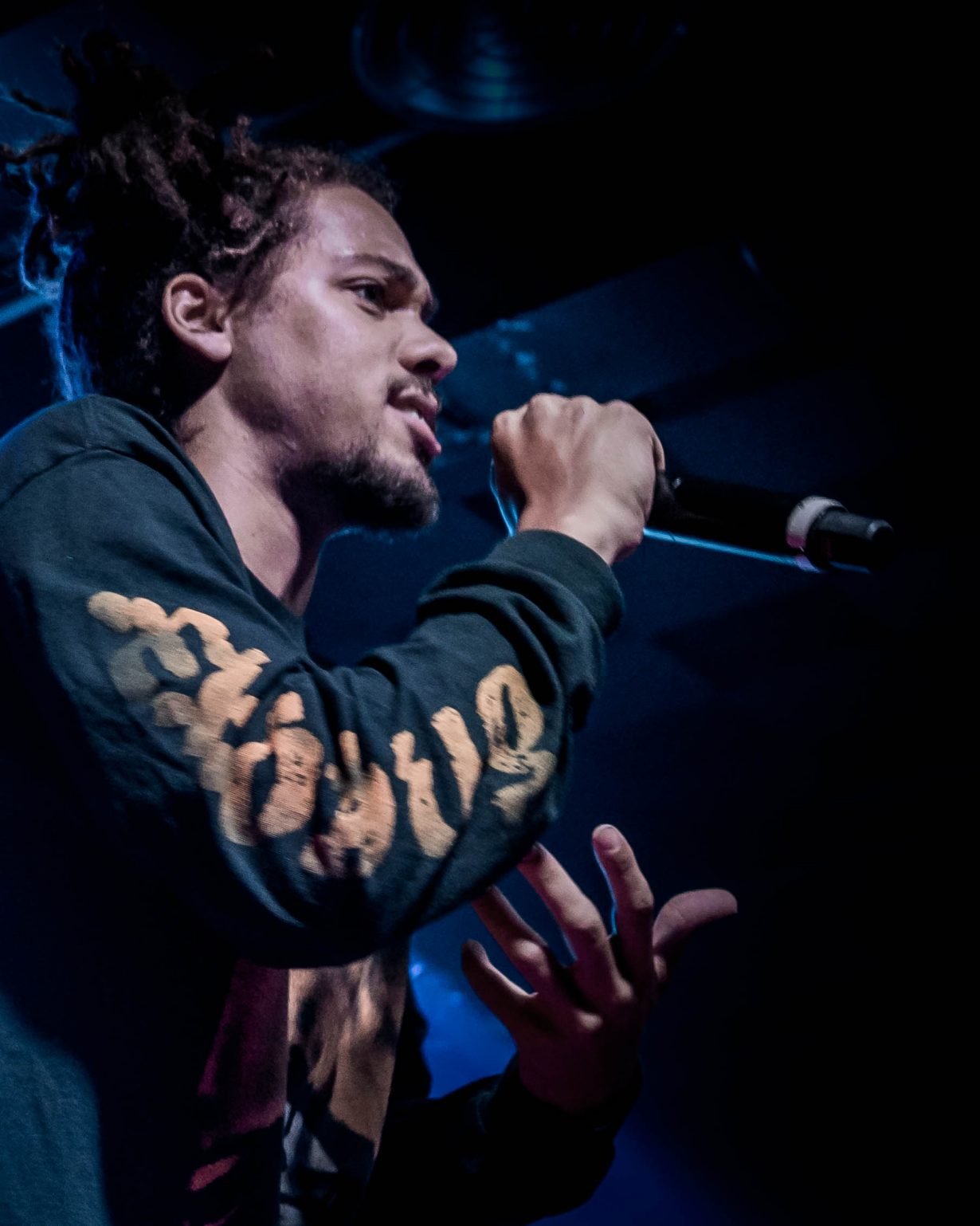Kweku Collins. Concord Music Hall 2017. Chicago IL. Photo Kevin Baker 4 1230x1538 Photos: Kaytranada, Kweku Collins and Lou Phelps at Concord Music Hall
