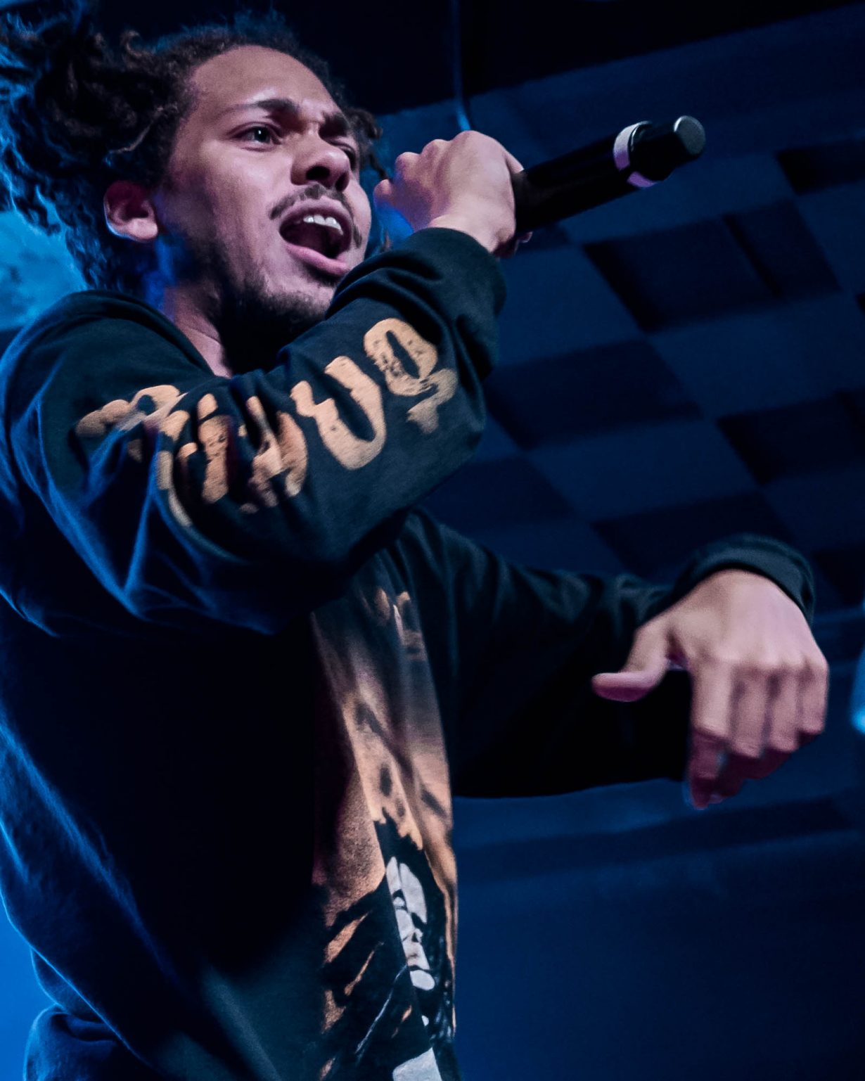 Kweku Collins. Concord Music Hall 2017. Chicago IL. Photo Kevin Baker 6 1230x1537 Photos: Kaytranada, Kweku Collins and Lou Phelps at Concord Music Hall