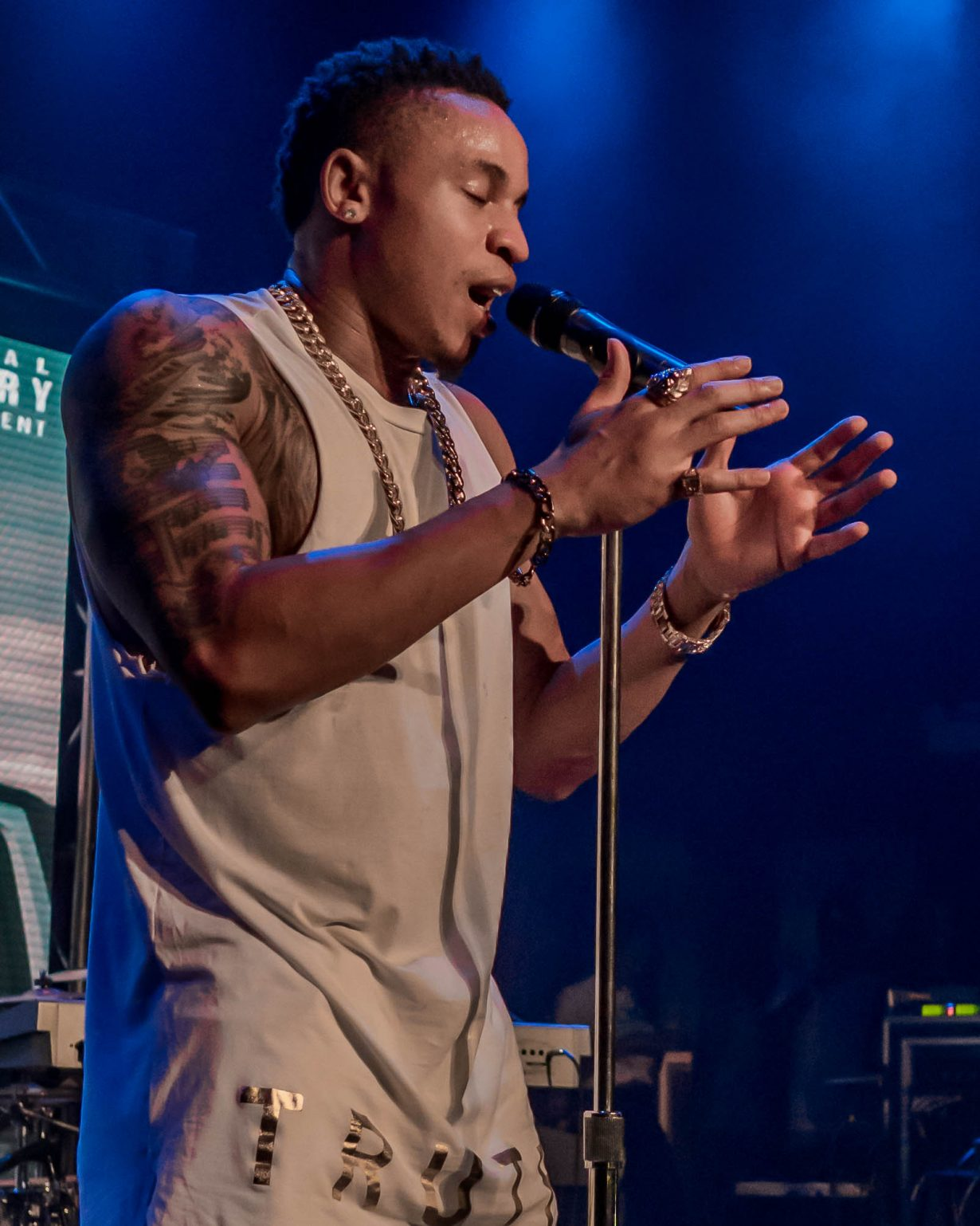 Rotimi. House of Blues 2017. Chicago Il. Photo by Kevin Baker 18 1230x1538 Photos: August Alsina Dont Matter Tour with Rotimi and Tone Stith at the House of Blues