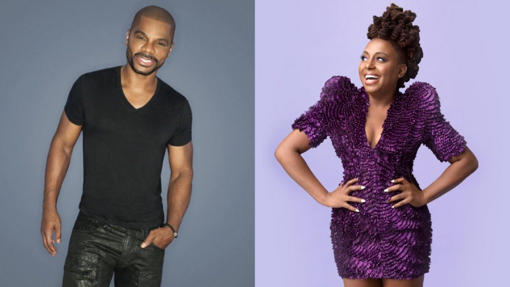Kirk Franklin and Ledisi