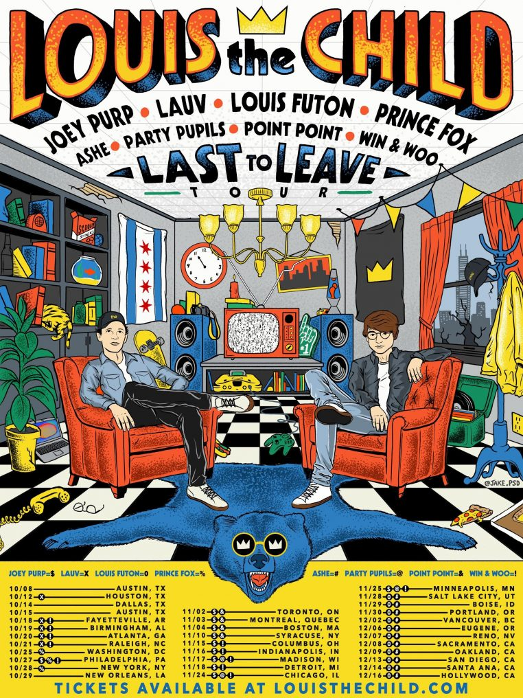 unnamed 762x1016 Louis The Child Last To Leave Tour Concert Tickets at Aragon Ballroom