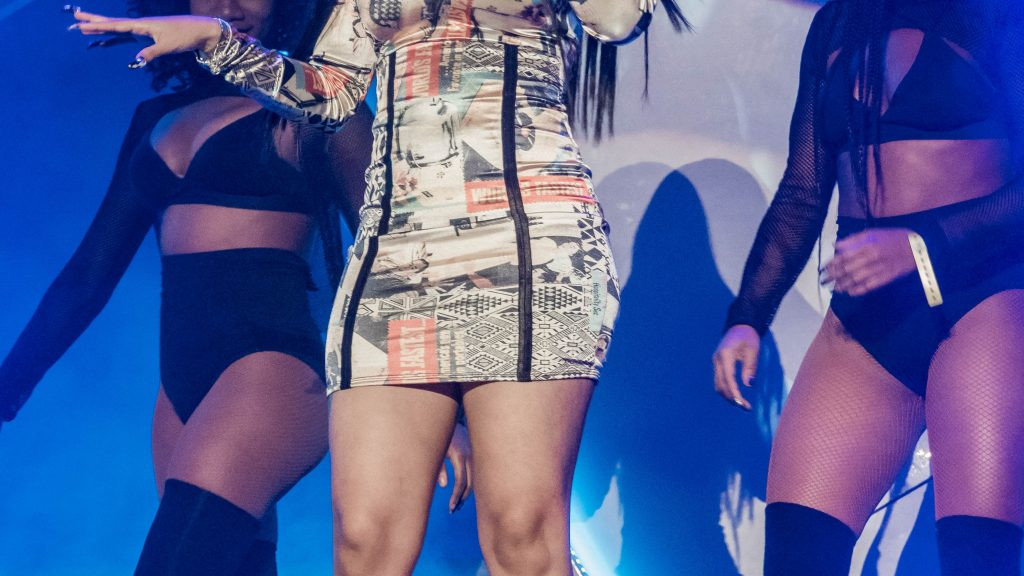 Cardi B. RapCaviar Aragon Ballroom 2017 Chicago Il. Photo by Kevin Baker 1024x576 RapCaviar Sets Chicago On Fire with Lil Uzi Vert, Playboi Carti, Cardi B, DJ Drama and More