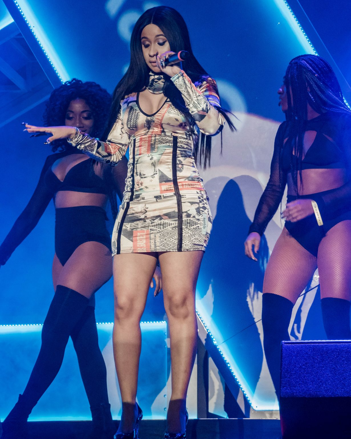 Cardi B. RapCaviar Aragon Ballroom 2017 Chicago Il. Photo by Kevin Baker 1230x1538 RapCaviar Sets Chicago On Fire with Lil Uzi Vert, Playboi Carti, Cardi B, DJ Drama and More