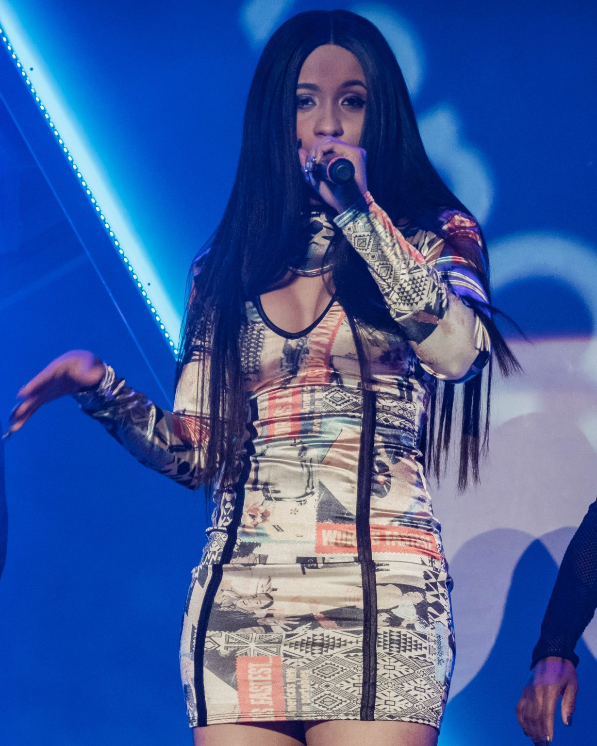 Cardi B. RapCaviar Aragon Ballroom 2017 Chicago Il. Photo by Kevin Baker 2 1230x1537 RapCaviar Sets Chicago On Fire with Lil Uzi Vert, Playboi Carti, Cardi B, DJ Drama and More