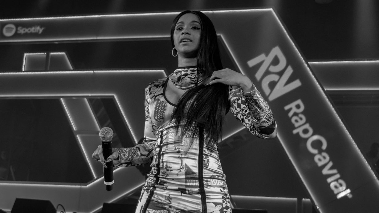 Cardi B. RapCaviar Aragon Ballroom 2017 Chicago Il. Photo by Kevin Baker 29 1230x692 RapCaviar Sets Chicago On Fire with Lil Uzi Vert, Playboi Carti, Cardi B, DJ Drama and More