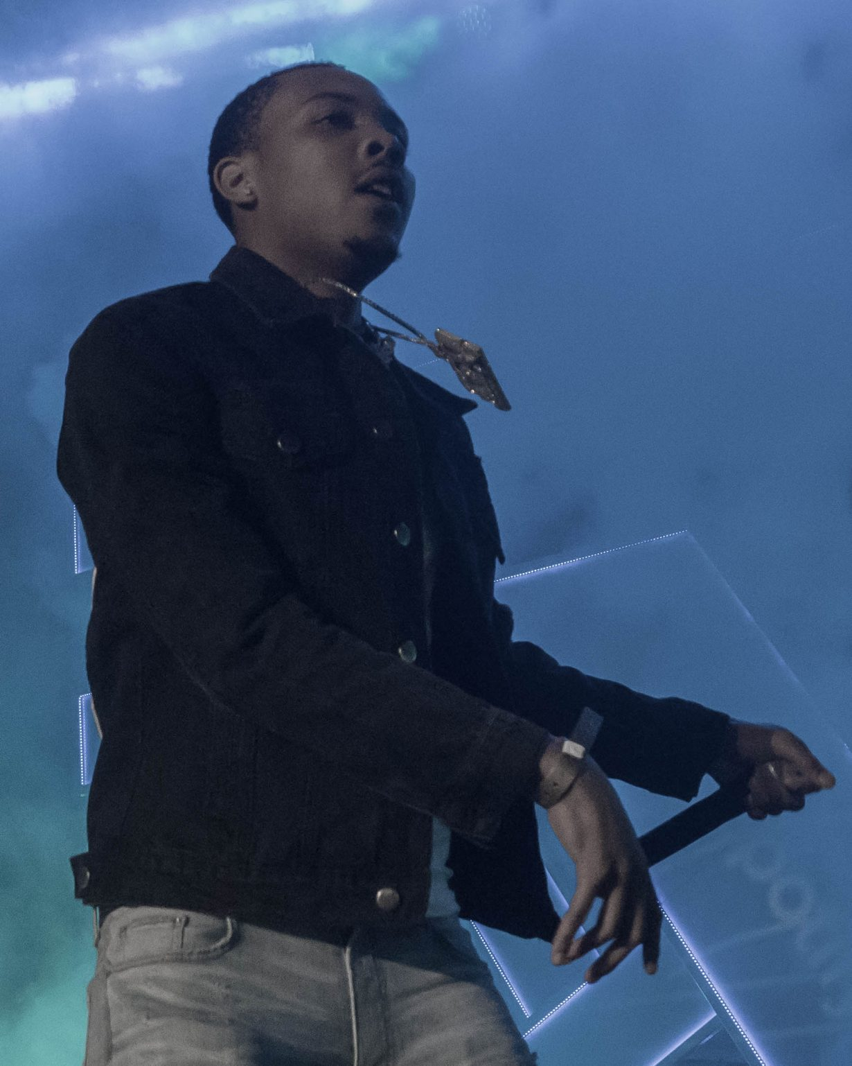 G Herbo. RapCaviar Aragon Ballroom 2017 Chicago Il. Photo by Kevin Baker 2 1230x1538 RapCaviar Sets Chicago On Fire with Lil Uzi Vert, Playboi Carti, Cardi B, DJ Drama and More