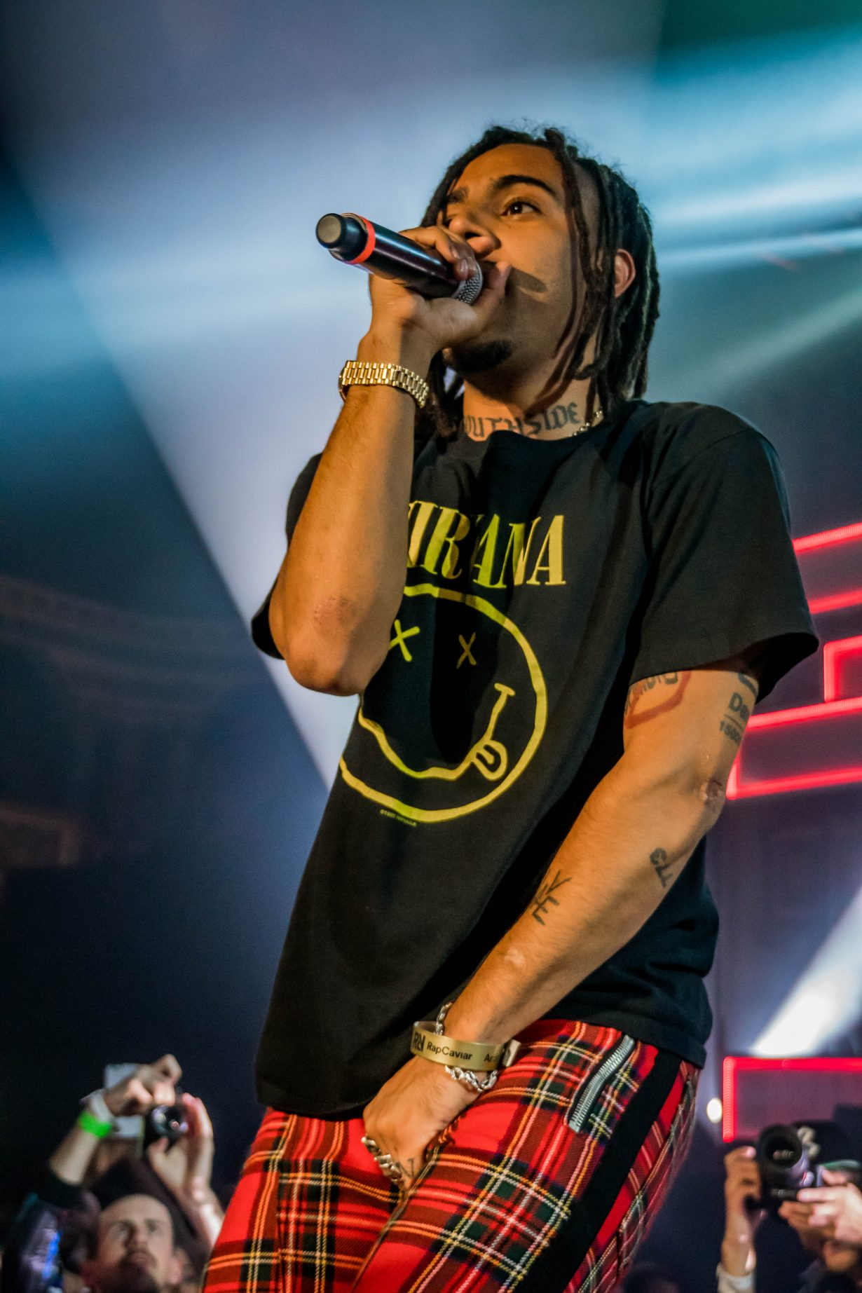 Vic Mensa. RapCaviar Aragon Ballroom 2017 Chicago Il. Photo by Kevin Baker 4 1230x1845 RapCaviar Sets Chicago On Fire with Lil Uzi Vert, Playboi Carti, Cardi B, DJ Drama and More