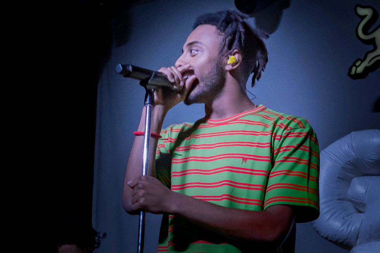 Amine. Red Bull Sound Select 2017 Chicago Il. Photo by Kevin Baker 14 1230x820 Aminé and Pell Bring Colorful Confidence to the Metro with Red Bull Sound Select 30 Days in Chicago