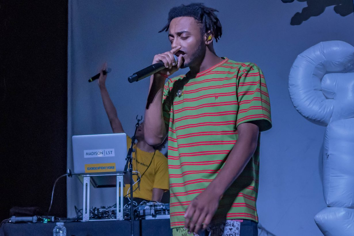 Amine. Red Bull Sound Select 2017 Chicago Il. Photo by Kevin Baker 29 1230x820 Aminé and Pell Bring Colorful Confidence to the Metro with Red Bull Sound Select 30 Days in Chicago