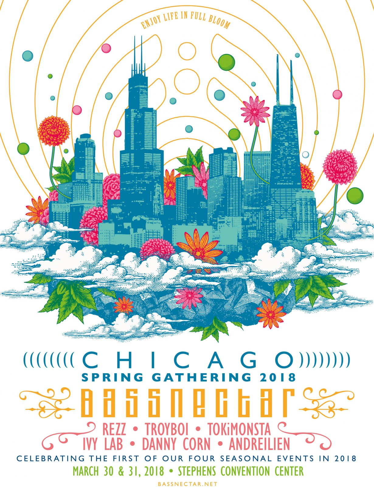 Bassnectar 1230x1616 Bassnectar Chicago Spring Gathering Concert Tickets at the Donald E. Stephens Convention Center
