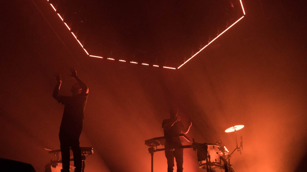 DSC04350 101 1230x692 ODESZA, Sofi Tukker, and Louis Futon Bring an Unforgettable Spectacle to UIC Pavilion