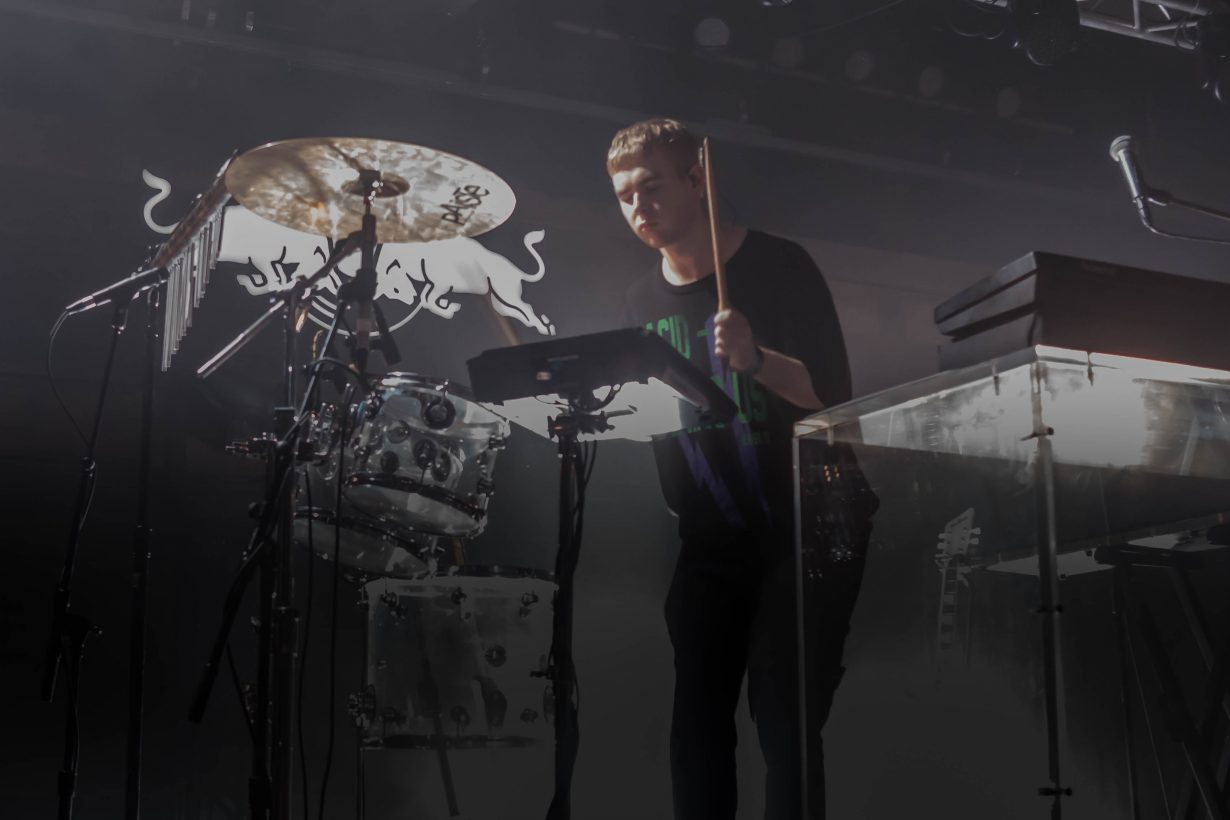 Mura Masa. Red Bull Sound Select 2017 Chicago Il. Photo by Kevin Baker 4 1230x820 Mura Masa, Tennyson, and slenderbodies Eased Their Way Into a Full Blown Dance Party at Concord