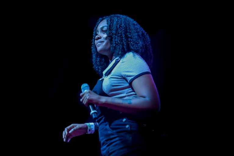 Noname. Red Bull Sound Select 2017 Chicago, Il. Photo by Kevin Baker