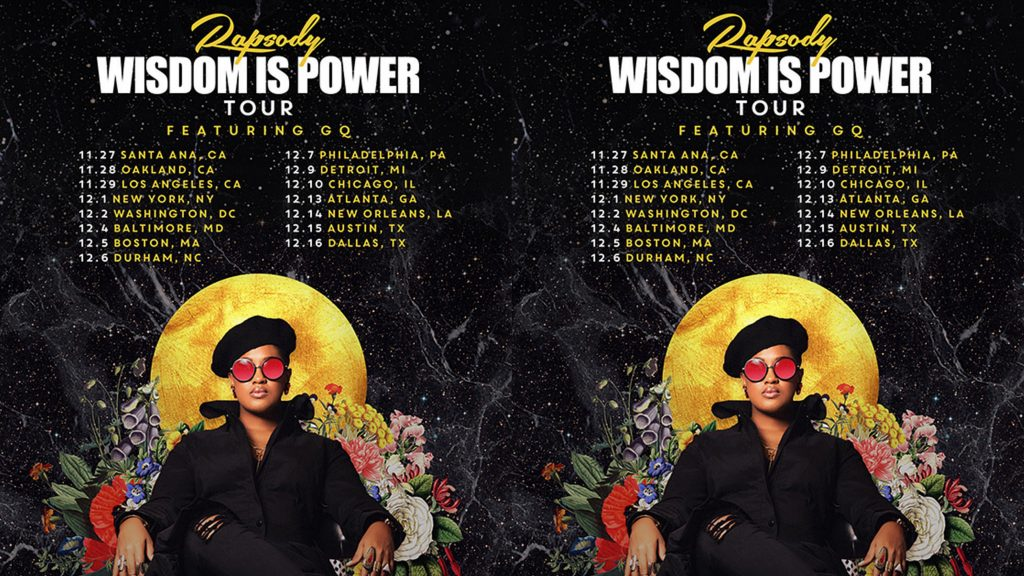 Rapsody Wisdom Is Power Tour Chicago