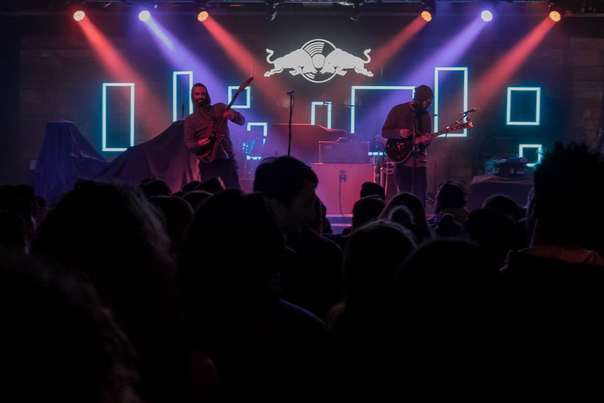 Slender Bodies. Red Bull Sound Select 2017 Chicago Il. Photo by Kevin Baker 3 1230x820 Mura Masa, Tennyson, and slenderbodies Eased Their Way Into a Full Blown Dance Party at Concord