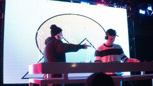 Medasin and Josh Pan, Bottom Lounge, November 29, 2017. Photo by Samantha Reyes