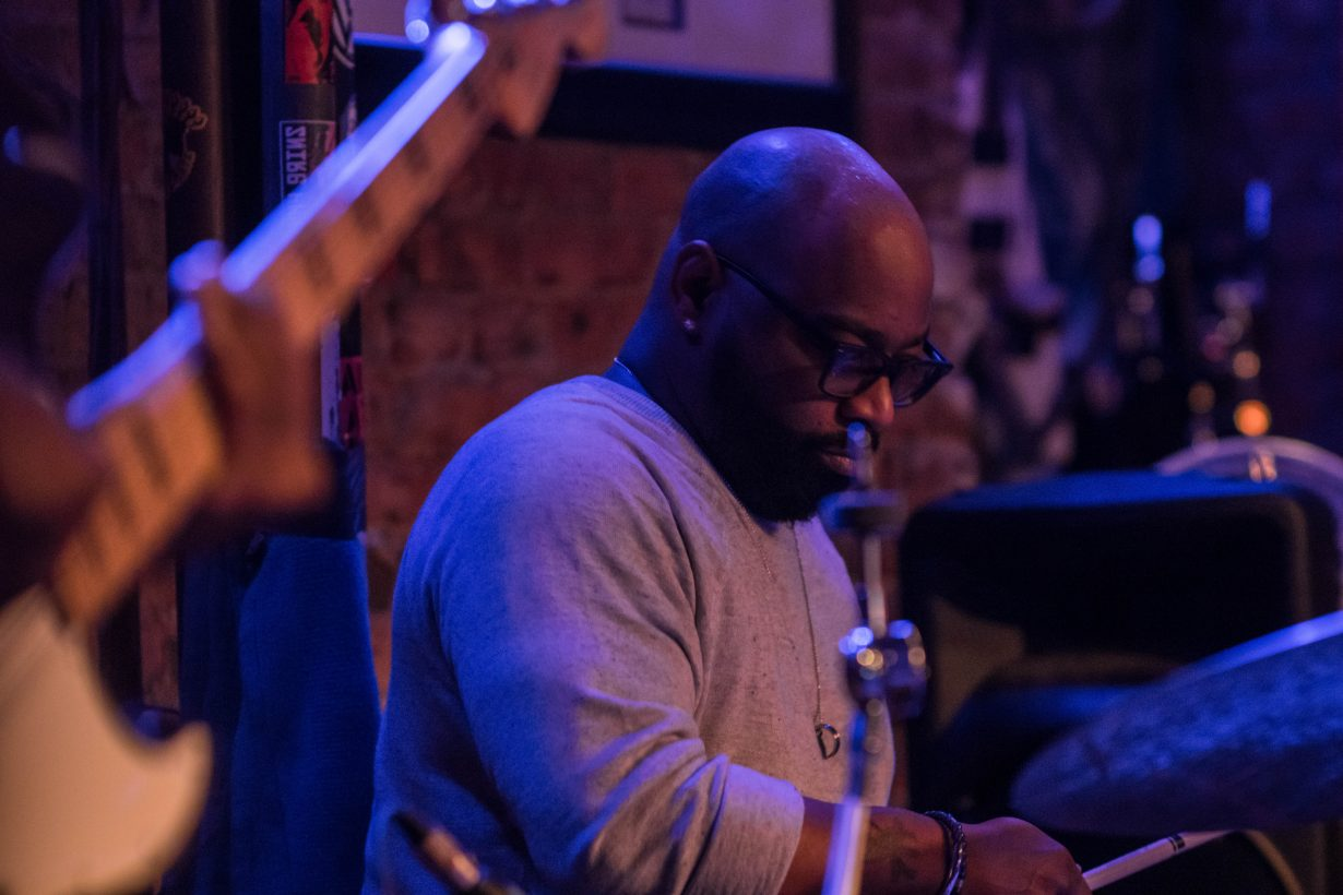 Calvin Rodgers March 2018. Photo by Kevin Baker. Chicago Il 1 3 1230x820 Cory Henry Pop Up Show at Reggies with Sharay Reed and Calvin Rodgers