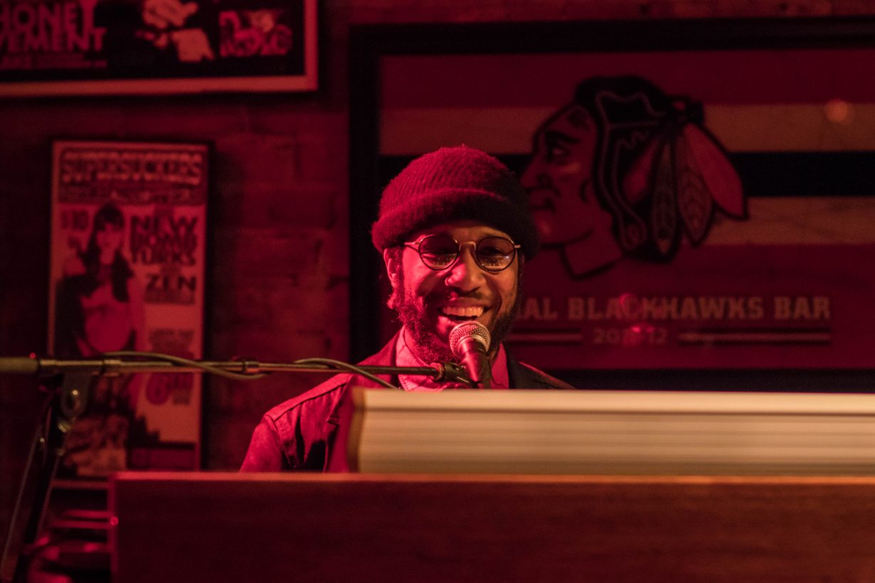 Cory Henry March 2018. Photo by Kevin Baker. Chicago Il 1 15 1230x820 Cory Henry Pop Up Show at Reggies with Sharay Reed and Calvin Rodgers