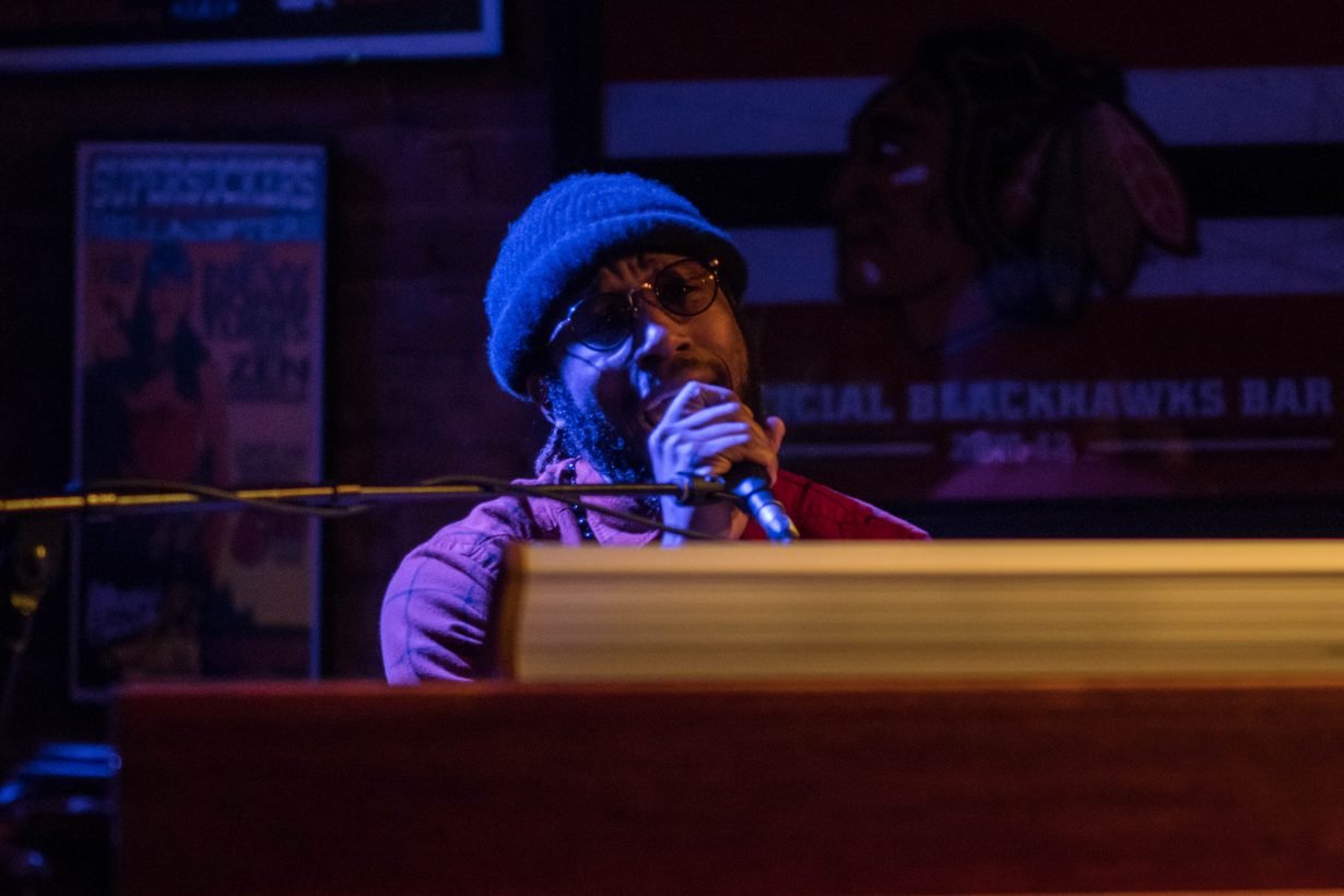 Cory Henry March 2018. Photo by Kevin Baker. Chicago Il 1 18 1230x820 Cory Henry Pop Up Show at Reggies with Sharay Reed and Calvin Rodgers