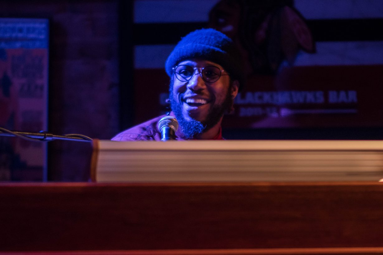 Cory Henry March 2018. Photo by Kevin Baker. Chicago Il 1 23 1 1230x820 Cory Henry Pop Up Show at Reggies with Sharay Reed and Calvin Rodgers
