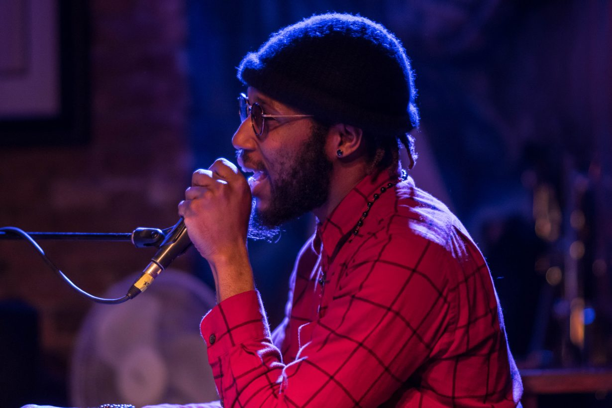 Cory Henry March 2018. Photo by Kevin Baker. Chicago Il 1 23 1230x820 Cory Henry Pop Up Show at Reggies with Sharay Reed and Calvin Rodgers