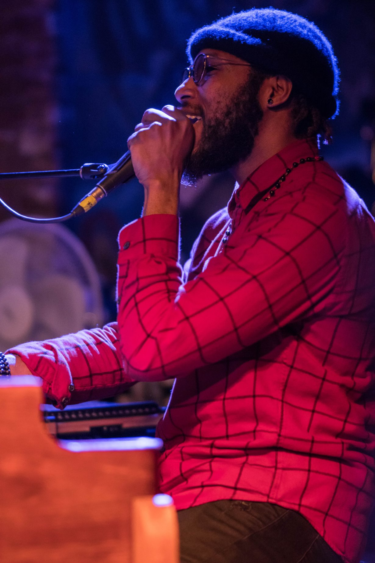 Cory Henry March 2018. Photo by Kevin Baker. Chicago Il 1 4 1230x1845 Cory Henry Pop Up Show at Reggies with Sharay Reed and Calvin Rodgers