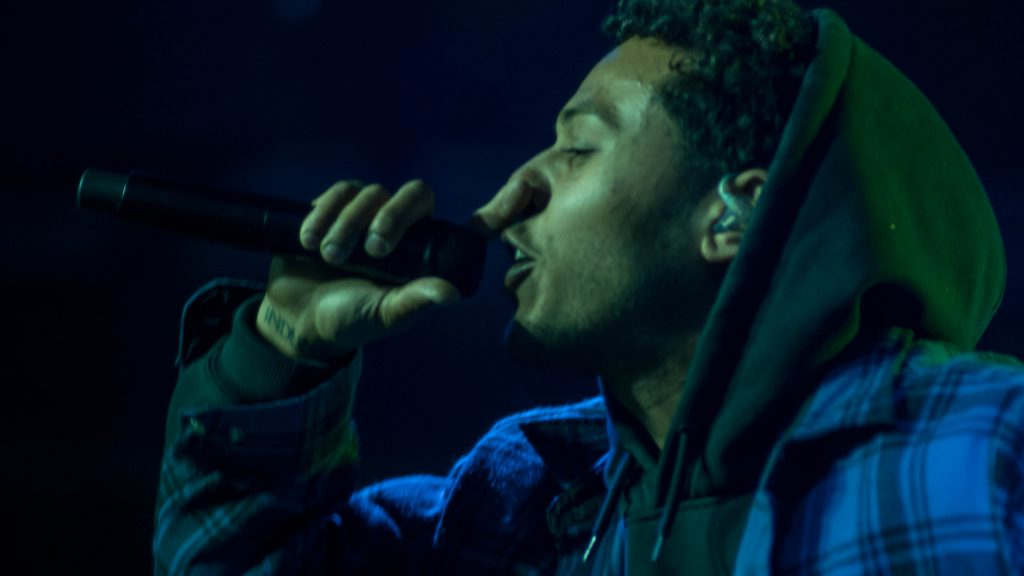 Joey Purp March 12 2018. Photo by Kevin Baker. Chicago Il  1024x576 Danny Brown and Joey Purp Get the Crowd Bouncing at Goose Islands 312 Day at House of Vans
