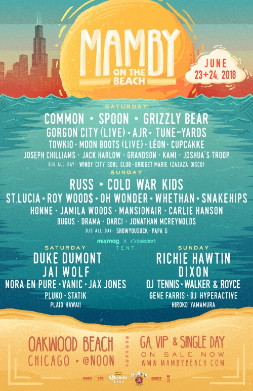 unnamed Mamby on the Beach 2018 Summer Music Festival Announces Lineup with Common and Russ