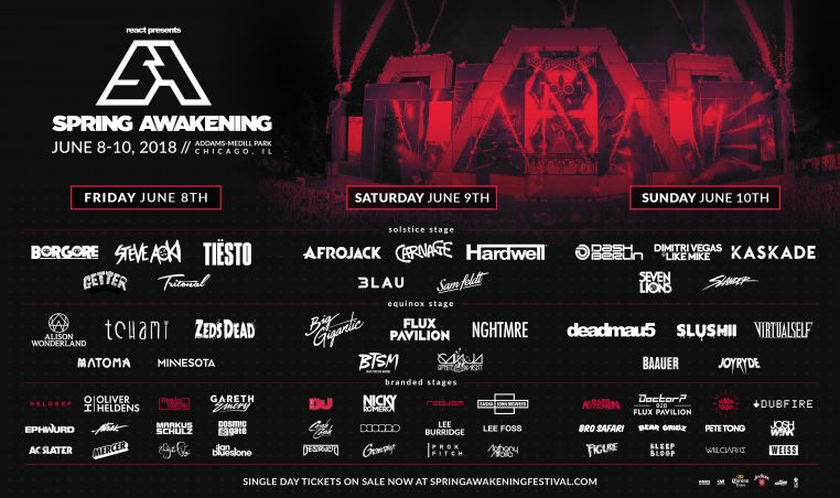 Daily Lineup SAMF 2018 3240X1920 762x452 Ticket Giveaway: Spring Awakening Music Festival featuring Borgore, Carnage, Kaskade and more