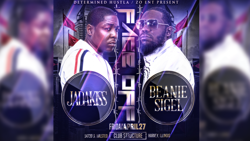 Jadakiss Beanie Sigel FaceOff Chicago. Presented by Determined Hustla and Zo Entertianment