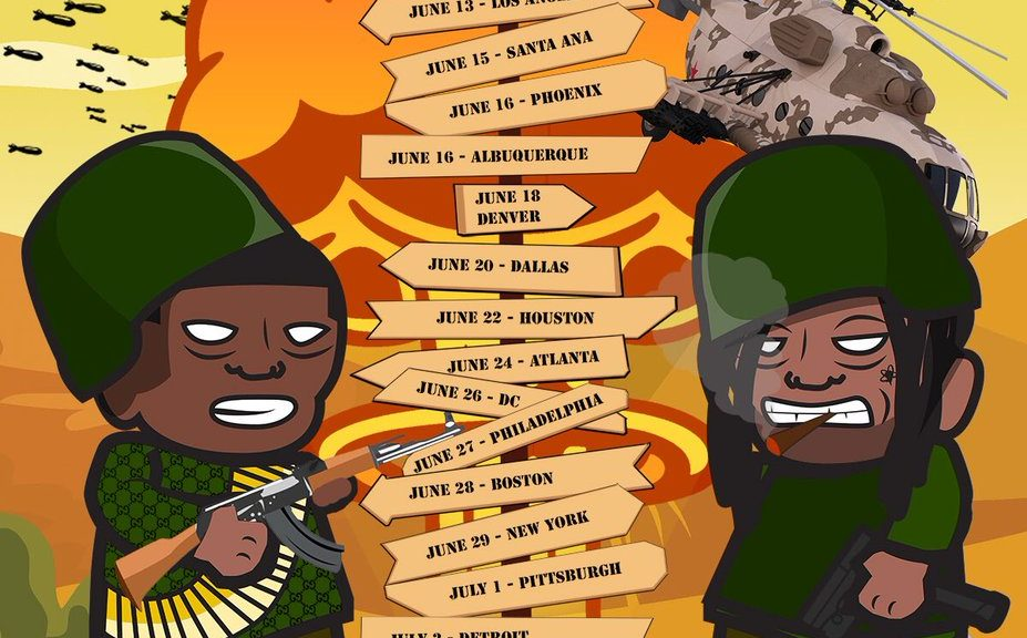 Sheck West and Valee Mosh Tour
