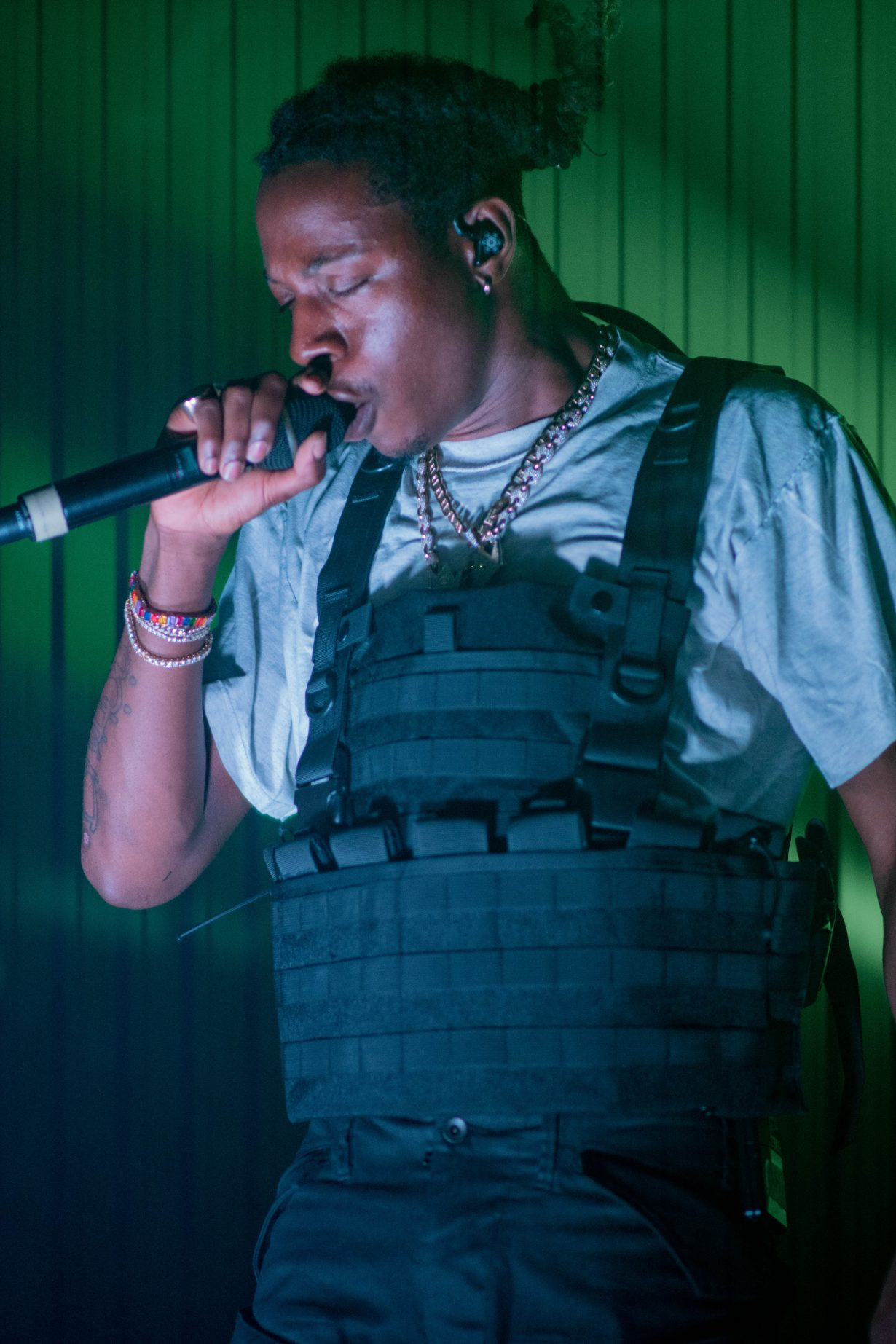Joey Bada. Concord Music Hall. Chicago IL. 2018. Photo by Kevin Baker. Chicago Il 10 1230x1845 Photos: Joey Bada$$ AmeriKKKa Tour Chicago at Concord Music Hall