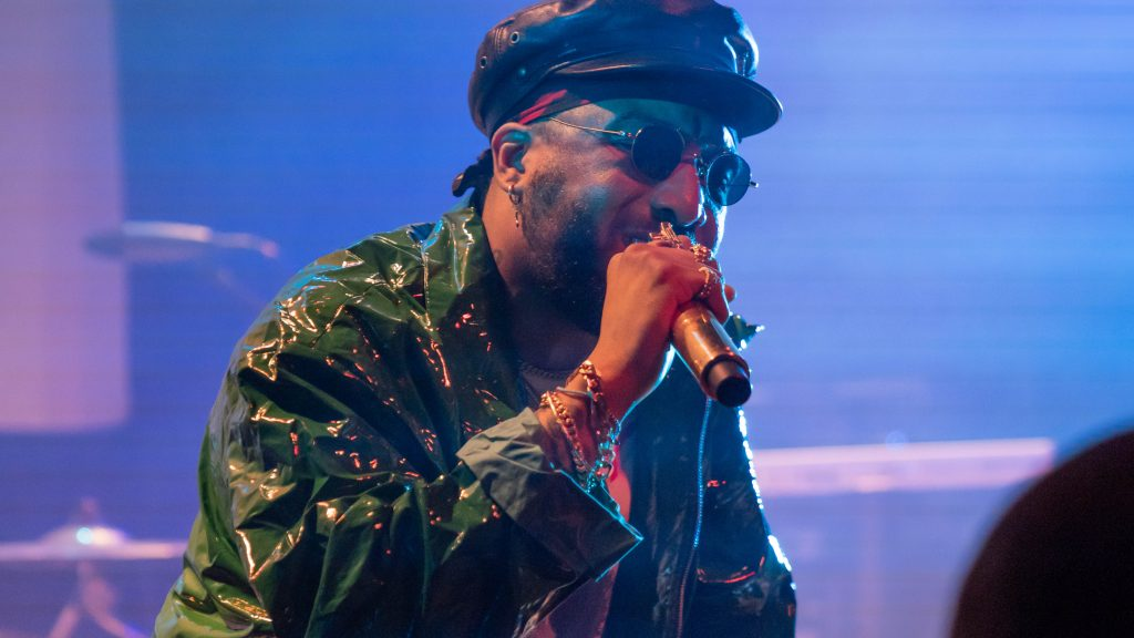 Ro James. Lincoln Hall. Chicago IL. 2018. Photo by Kevin Baker. Chicago Il 1024x576 The RnB Tour with Ro James and BJ The Chicago Kid Delivers Melodies from Lincoln Hall